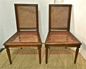 PAIR DIRECTOIRE CHAUFFEUSE OR CHILD CHAIRS
