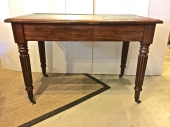 WILLIAM IV LIBRARY/WRITING TABLE WITH BOOK STAND