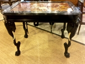 JAPANESE LACQUER ELEPHANT TABLE