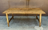 FRENCH 19TH C. FOLDING FARM TABLE