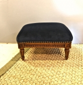 LOUIS XVI FOOTSTOOL, Early 20th c.