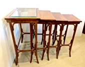 Set of 4 Nesting Tables Attributed to Thonet