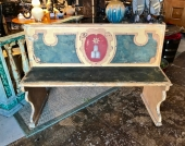TUSCAN PAINTED BENCH, 18TH CENTURY