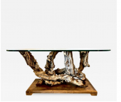 MID-CENTURY ROOT/DRIFT WOOD TABLE OR CONSOLE