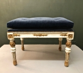 Gustavian Neoclassical Bench