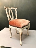 18th CENTURY ITALIAN SLIPPER CHAIR