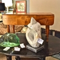 LATE FEDERAL/SHERATON CHILD DROP LEAF TABLE