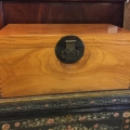 20TH CENTURY CHINESE CAMPHOR WOOD TRUNK