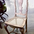 Pair 18th c. Swedish Side/Dining Chairs