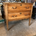 ITALIAN LATE 18TH CENTURY WALNUT COMMODE