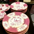 "Set of 16 Minton ""Cockatrice"" Dinner Plates, c. 1900"