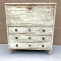 Swedish Gustavian Drop Front Secretaire, 18th Century