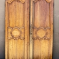 PAIR 18TH CENTURY FRENCH DOORS