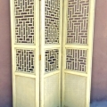 ANTIQUE CHINESE FRETWORD SCREEN