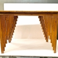 ART DECO BAMBOO WRITING TABLE